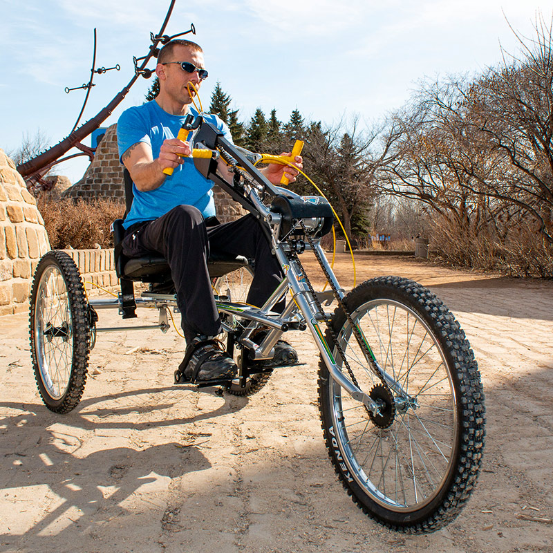 Defier Handcycle from Freedom Concepts