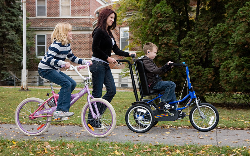 Family Ride on a DCP16 - Freedom Concepts