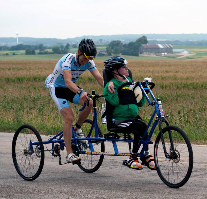 Pease Brothers Custom IRONMAN Triathalon ET2611 Tandem