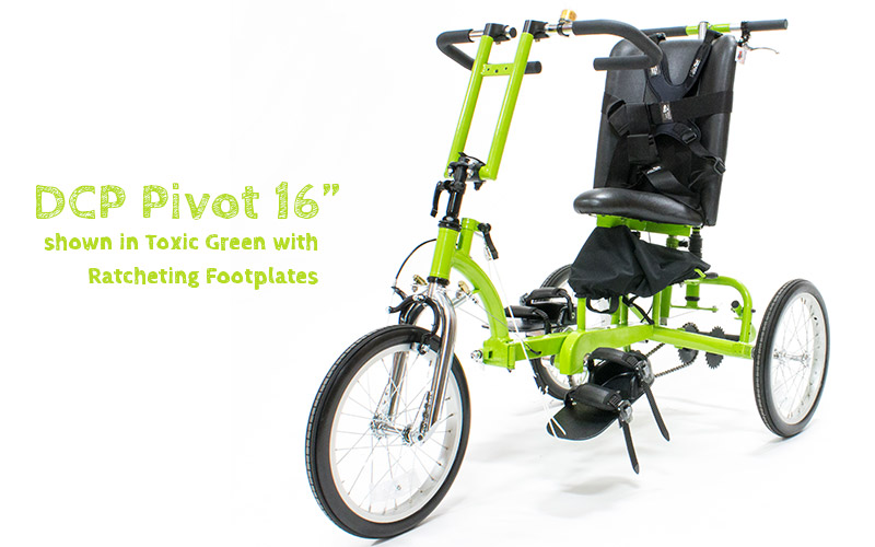 """DCP Pivot 16"""" in Toxic Green"""