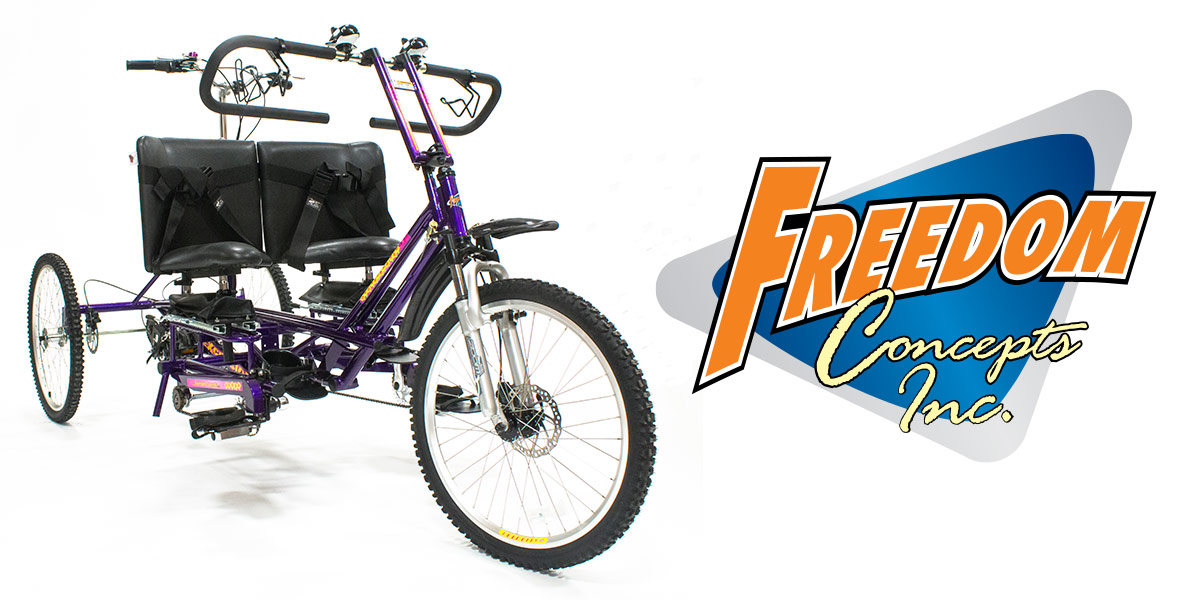 Custom Adaptive Tandem Bike for Conjoined Twin Sisters