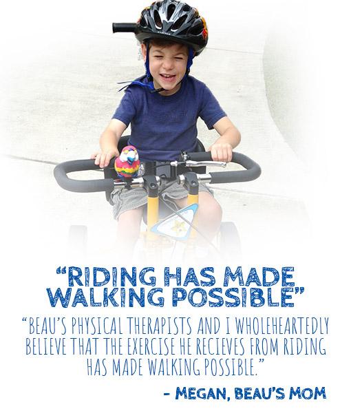 Beau's Adaptive Bike Testimonial