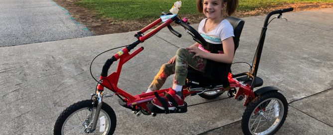 Tallie Lyons Rides Her Freedom Concepts Adaptive Bicycle
